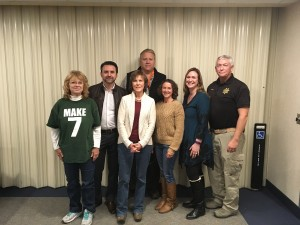 Deanna Hill, Fernando Muzquiz, Lynn Annear, John Pederson, Donna Black (coordinator), Heather O'Connor, Don Heiduck